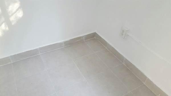 Este fue el resultado del cambio de piso.