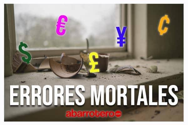 Errores mortales