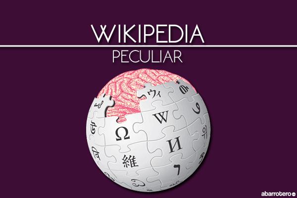 Los artículos más extraños en Wikipedia