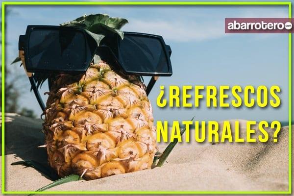 ¿Refrescos endulzados con agave y stevia natural?