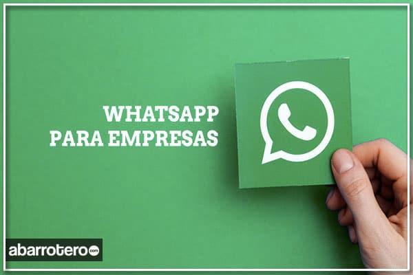 WhatsApp para negocios, sí al número fijo