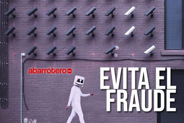 Evita el fraude
